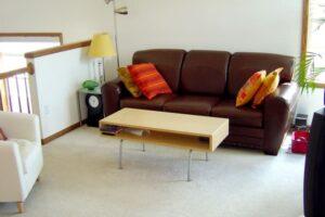 textilbőr kanapé
