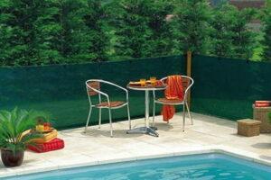 kerítés takaró háló